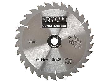 Dewalt dt1151 qz circular saw blade portable 184 x 16mm 30t dewalt dt1151 qz circular saw blade portable 184 x 16mm 30t keyboard keysfo Image collections