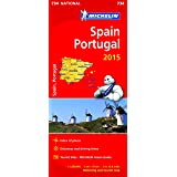Spain & Portugal 2015 - Michelin National Map 734 (Michelin National Maps)