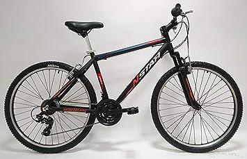 New Star Everest Bicicleta BTT Aluminio TX30, Hombres, s: Amazon ...