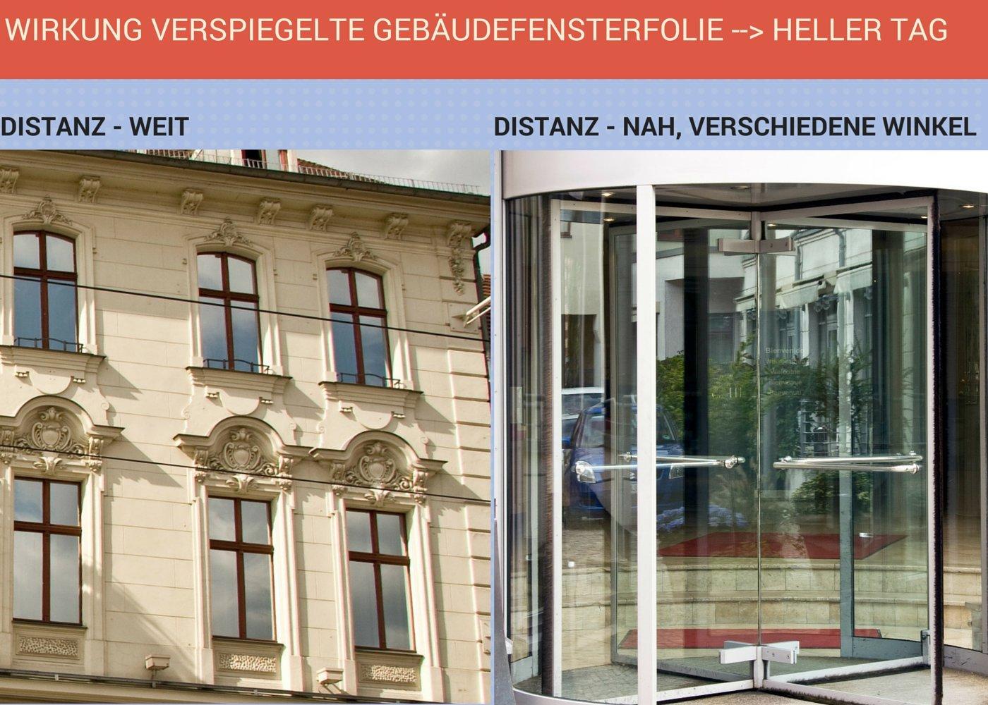 Spiegelfolie Fenster verspiegelte Fensterfolie 0 76 x 2 20 m