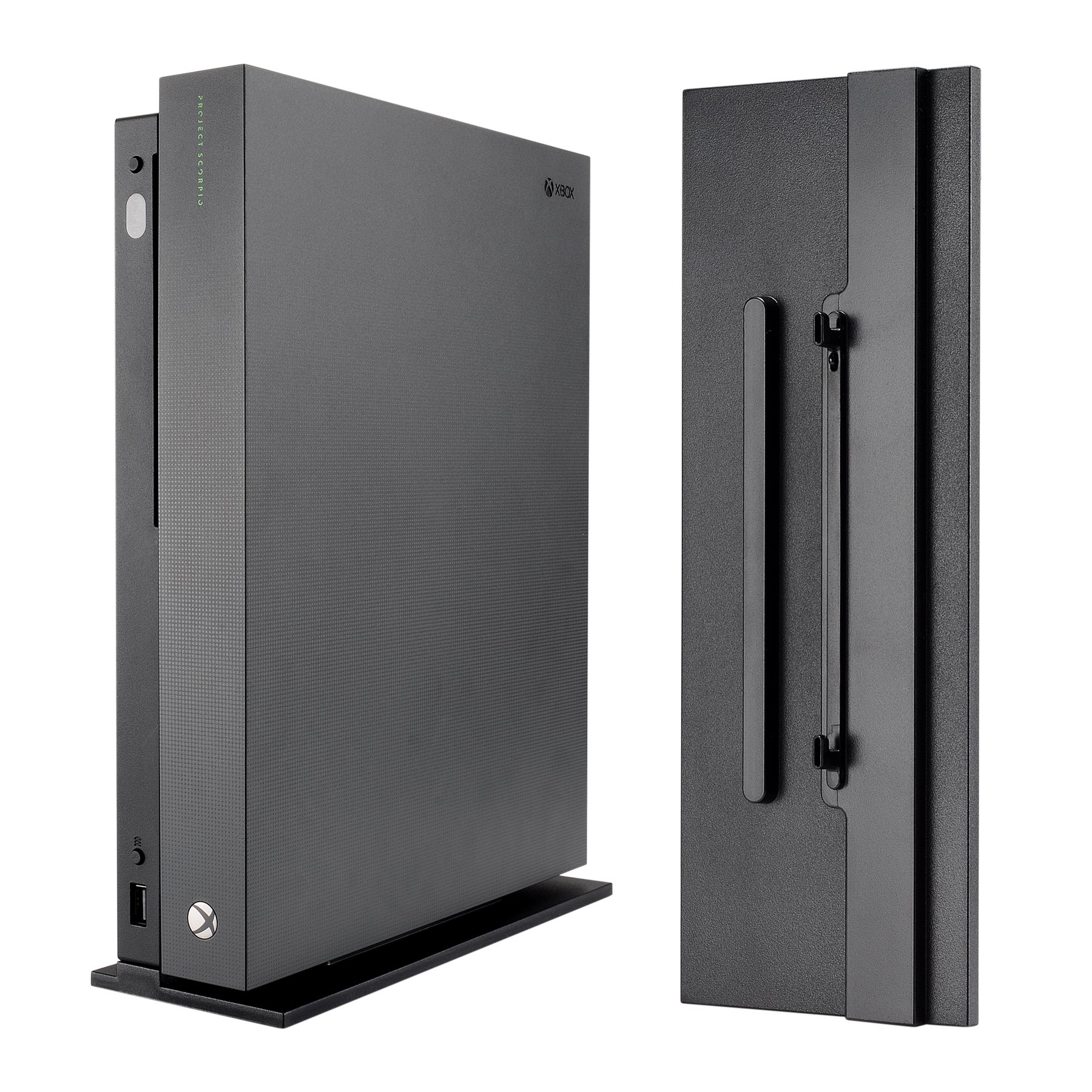 eXtremeRate Vertical Console Stand for Microsoft Xbox One X - Black by eXtremeRate
