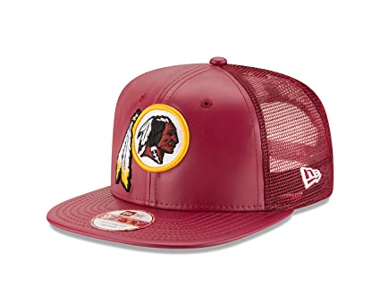 9aff723200facc Buy NFL Washington Redskins Team Sleek Trucker 9FIFTY Cap, One Size, Red  Online at Low Prices in India - Amazon.in