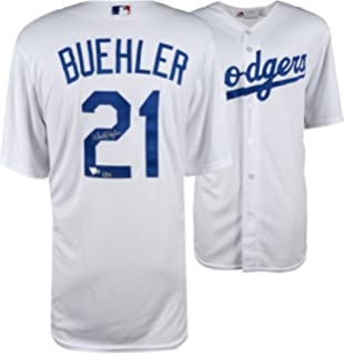 Mlb Dodgers #21 Walker Buehler Home  custom jersey size M,L,XL,XXL available