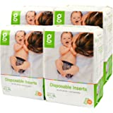 gDiapers Disposable Inserts Case, Medium/Large/X-Large (13-36 lbs) (Pack of 4)