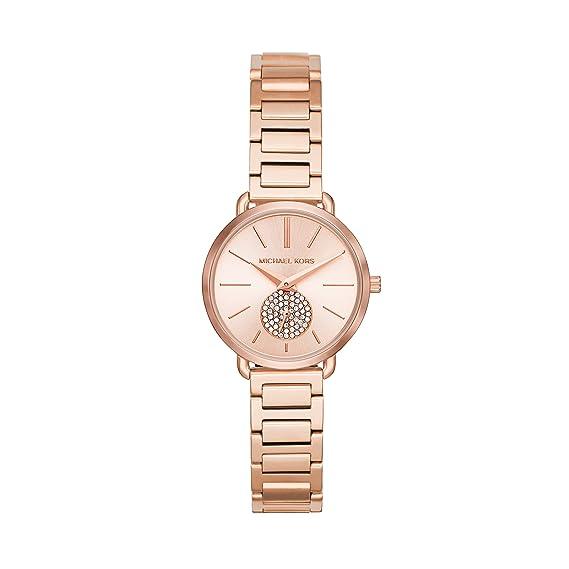 Michael Kors Reloj Analogico para Mujer de Cuarzo con Correa en Acero Inoxidable MK3839