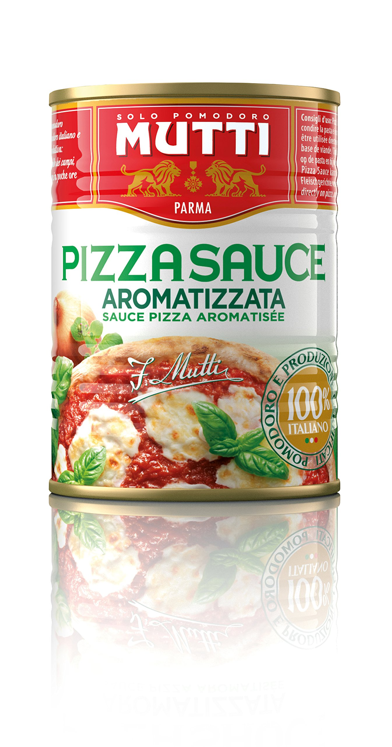 Mutti Pizza Sauce with Spices, 14 oz. Can, 12-Pack
