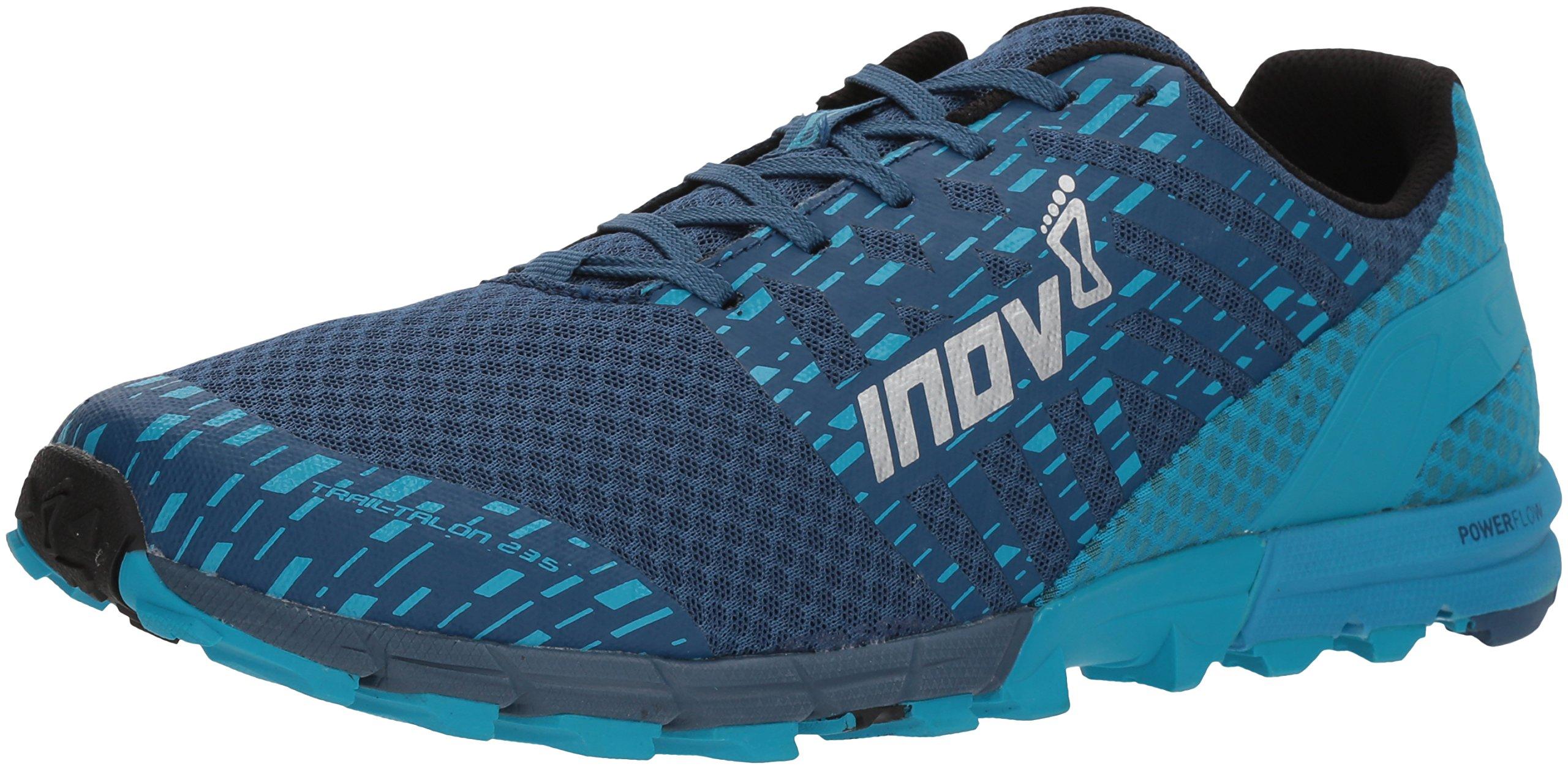 Inov-8 Men's Trailtalon 235 (M) Trail Running Shoe, Blue, 12.5 D US