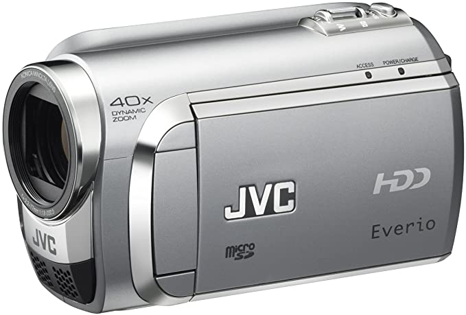 Amazon.com : JVC Everio GZ-MG630 60GB HDD/MicroSD Camcorder (Silver) (Discontinued by Manufacturer) : Everio Gz Mg : Camera & Photo