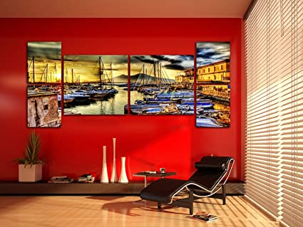 Quadri da soggiorno finest idea soggiorno moderno con vari quadri e tocchi di colore giallo - Quadri da appendere in cucina ...