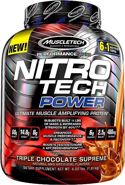 Muscletech Performance Series Nitro-Tech Power Triple Chocolate Supreme - 1833 gr