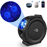 Star Projector, 3 in 1 Galaxy Projector, Titita Ocean Wave/Moon/Star Sky Lite Light projector with Timer, Touch, Smart…