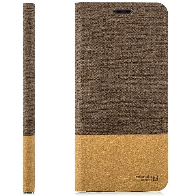 zanasta Tasche kompatibel mit Huawei GR3 (P8 Lite SMART) mit Kartenfach Hülle Flip Case Slim Schutzhülle Handytasche, Standfu