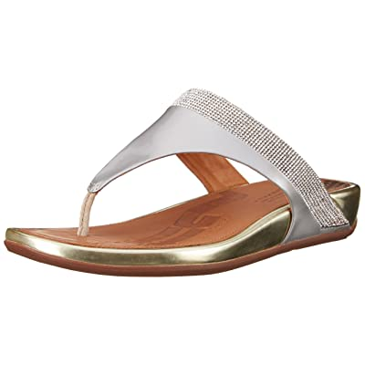FitFlop Women's Banda Micro Crystal Toe Post Flip Flop | Flip-Flops
