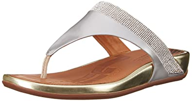 12da01d54346 FitFlop Women s Banda Micro Crystal Toe Post