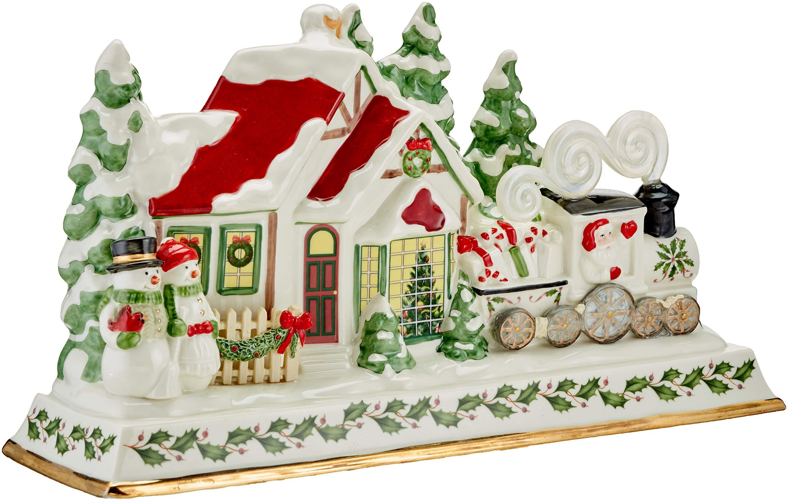 Lenox Holiday Musical Lighted Santa and Train