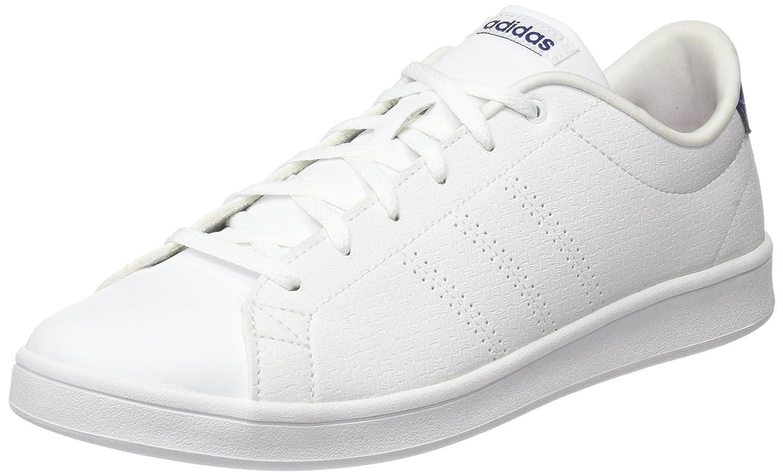 adidas Damen Advantage CL QT Sneaker  42 2/3 EU|Wei? (Footwear White/Footwear White/Mystery Ink)