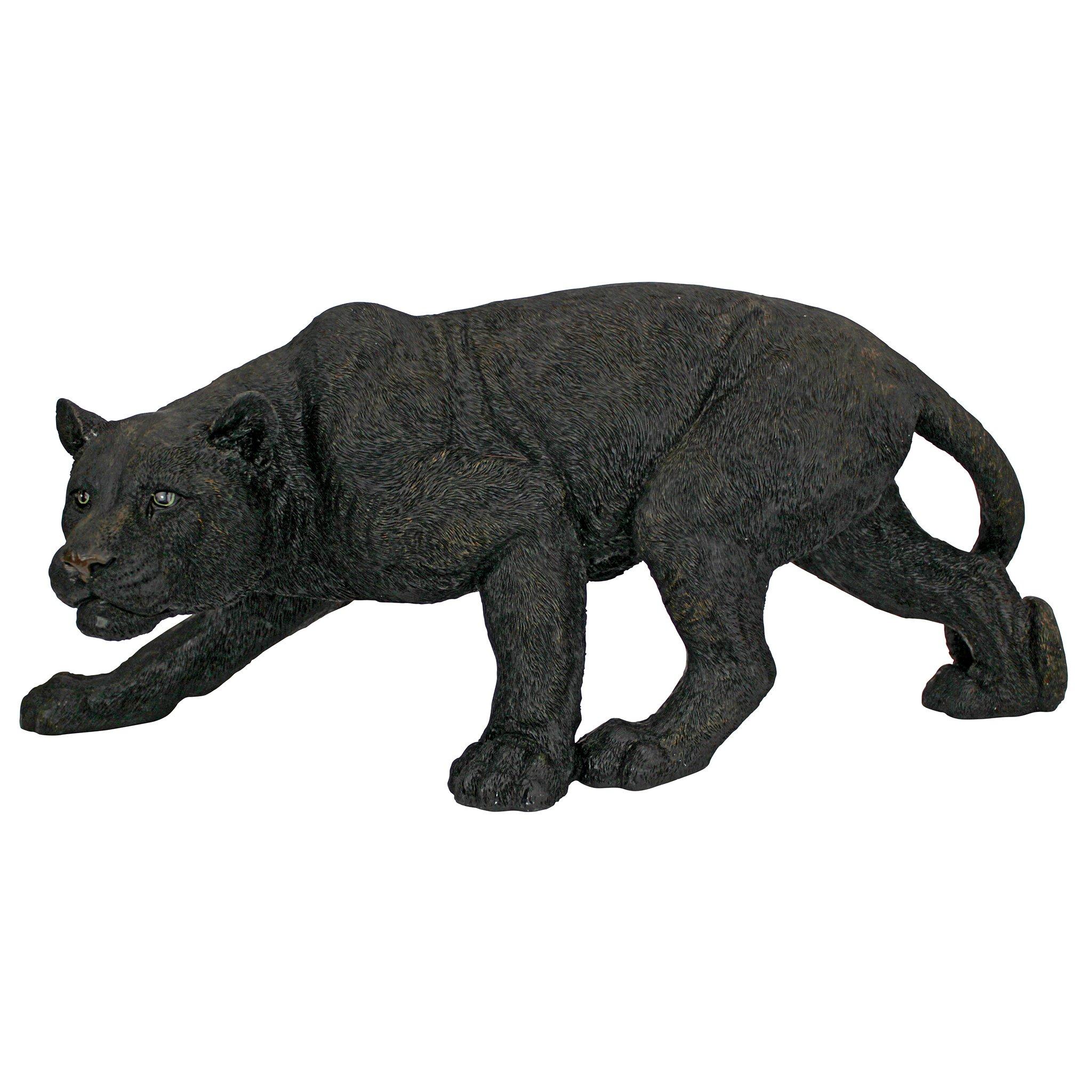 Design Toscano Shadowed Predator Black Panther Garden Statue by Design Toscano