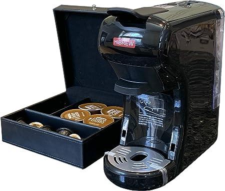 HiBREW Máquina de café expreso multifunción 3 en 1 Dolce Gusto compatible con cápsula…