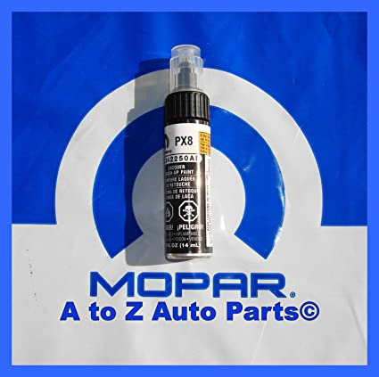 Dodge /Chrysler / Jeep BLACK Touch Up Paint (PX8) 2250 Mopar OEM