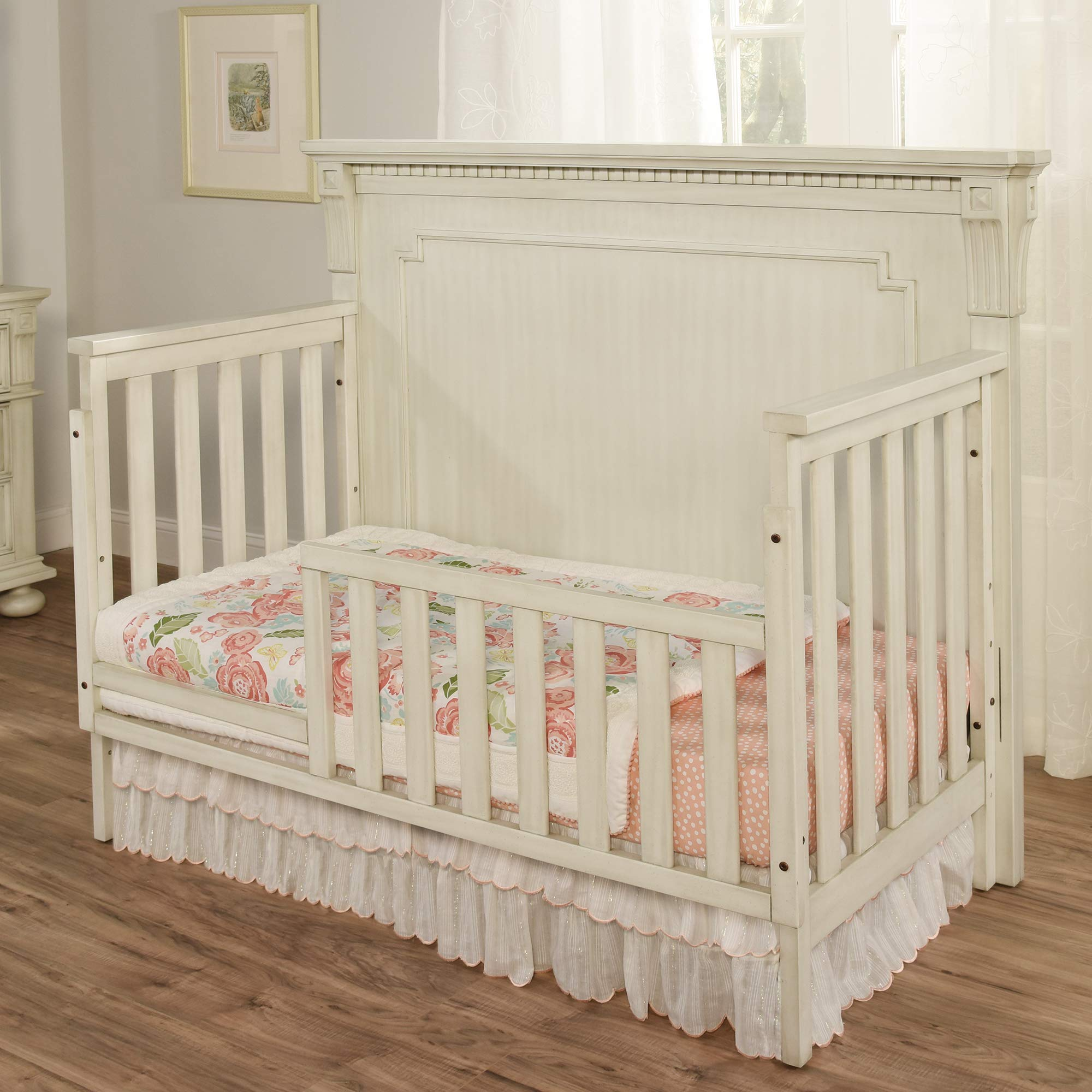 Oxford Baby Mid Century Claremont Guard Rail, Antique White by Oxford Baby (Image #2)