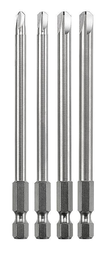 kwb TORQUESET punta de destornillador 4 pieza(s) - Puntas de destornillador (4 pieza(s), Torq-Set, 4, 6, 8, 10, Acero, 10 cm, 25,4/4 mm (1/4