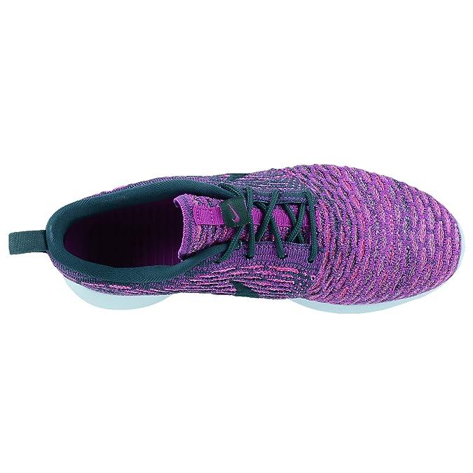 watch b45e1 5b807 Amazon.com   NIKE Women s Roshe One Flyknit Casual Shoes Purple 704927-302    Running
