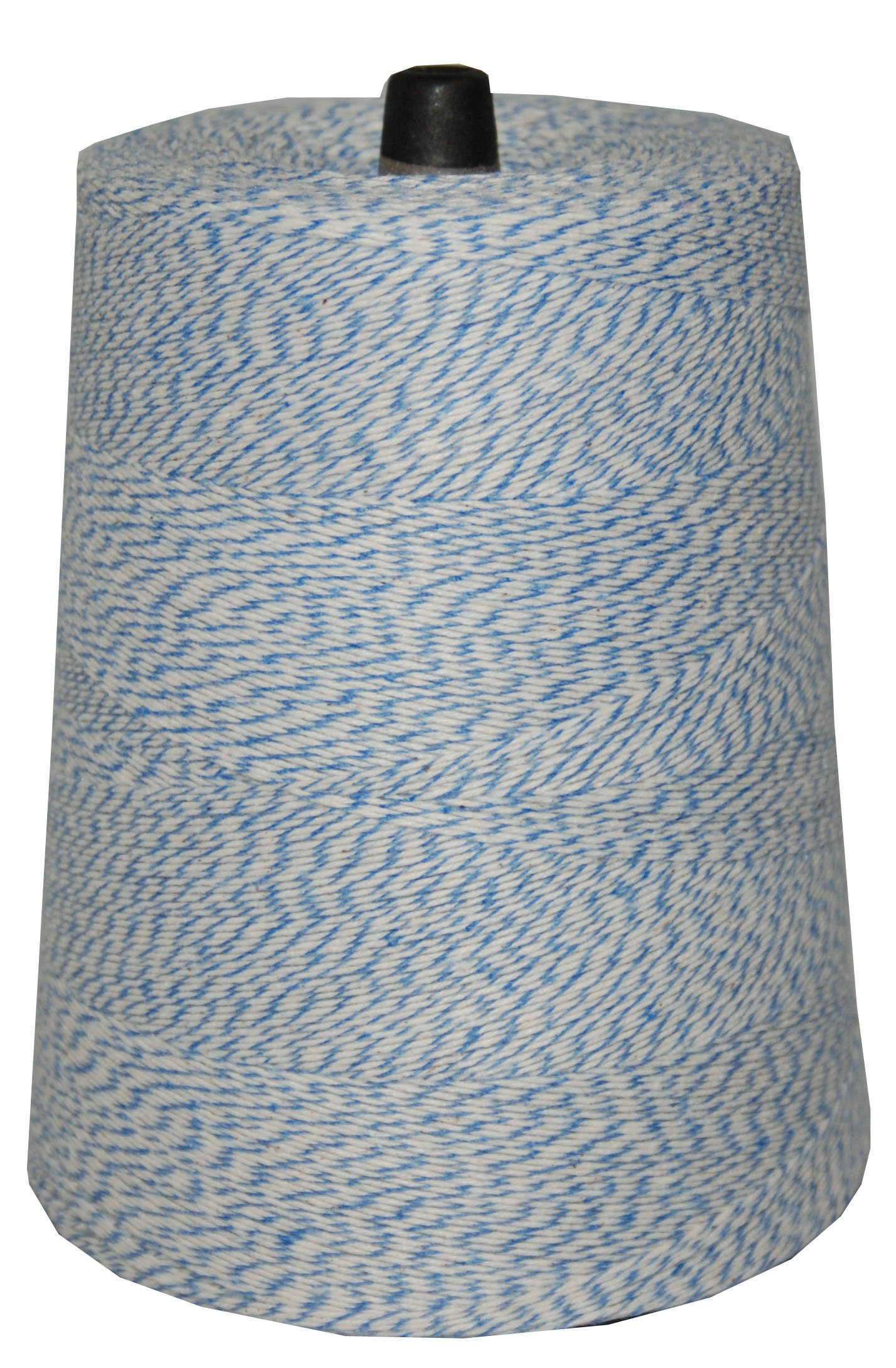 T.W . Evans Cordage  07-043 Poly Variegated 2-Pound Cone, 9600-Feet, Blue and White