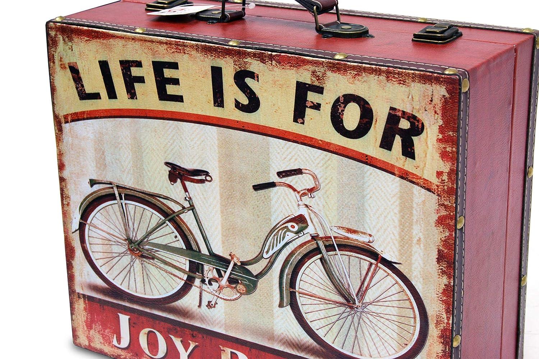 37 * 30 * 14 cm. BUAR ARTESANOS Maleta Joy Riding