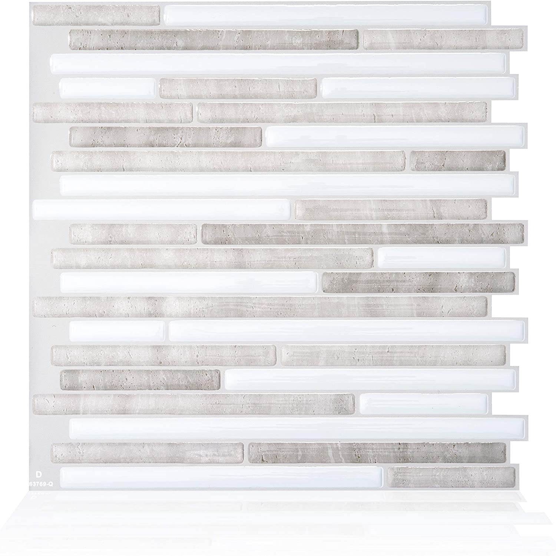 Smart Tiles tuiles Autocollantes pour dosseret Paquet de 6 Capri Perra