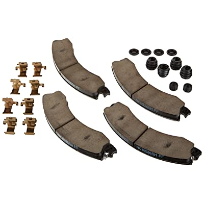 ACDelco 171-1024 GM Original Equipment Rear Disc Brake Pad Kit with Brake Pads, Clips, Seals, Bushings, and Caps: Automotive