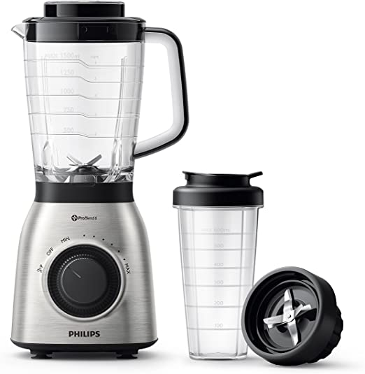 Philips Viva Collection HR3553/00 700W Licuadora (Batidora de Vaso ...