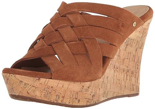 441abc84eaa UGG Womens Marta Wedge Sandal: Amazon.ca: Shoes & Handbags