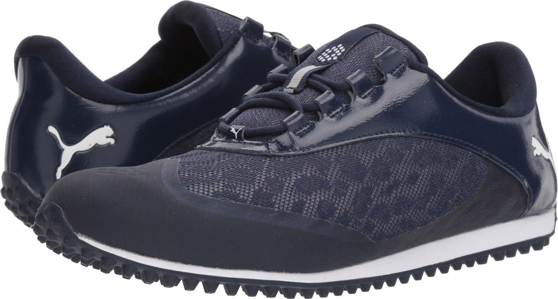 PUMA Golf Women's Summercat Sport Golf Shoe, Peacoat/White, 6.5 Medium US