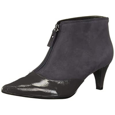 MARC JOSEPH NEW YORK Women's Leather Made in Brazil 2.25 Inch Heel Ankle Bootie Pump | Ankle & Bootie