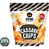 IRVINS Salted Egg Cassava Chips, 105g