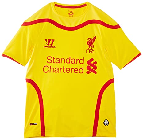 pretty nice cdc78 a989b WARRIOR Liverpool Away Boys Jersey 2014/2015