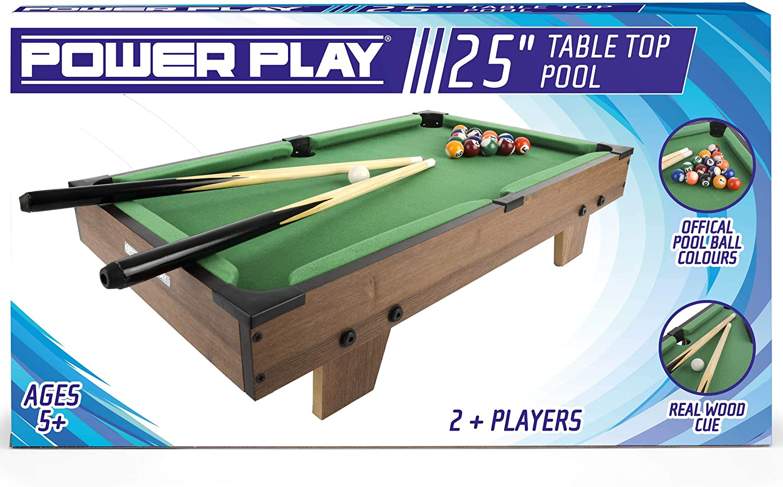 Power Play Mesa de Billar TY5894DB: Amazon.es: Juguetes y juegos