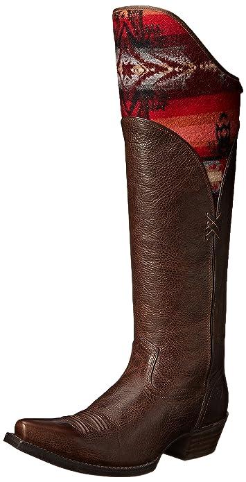 11d9b607136 ARIAT Womens Caldera New West 7 RM Chocolate