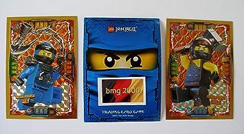 Ninjago Serie 4 Lego 2 Tarjetas de Oro limitadas LE 2 Mega ...