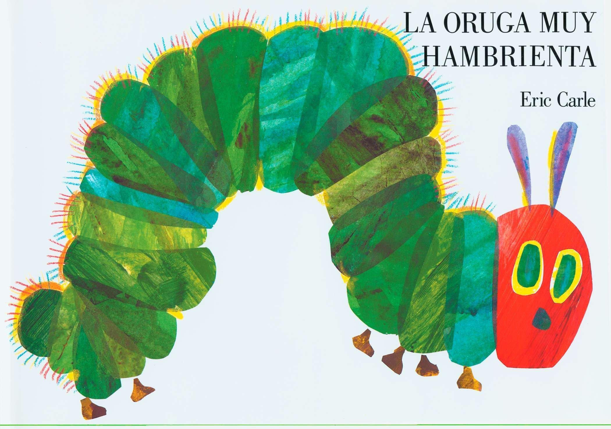 amazon la oruga muy hambrienta spanish board book eric carle