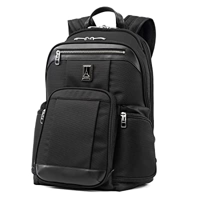 Travelpro Platinum Elite - 17-Inch Business Laptop Backpack, Shadow Black, 17.5-Inch | Kids' Backpacks