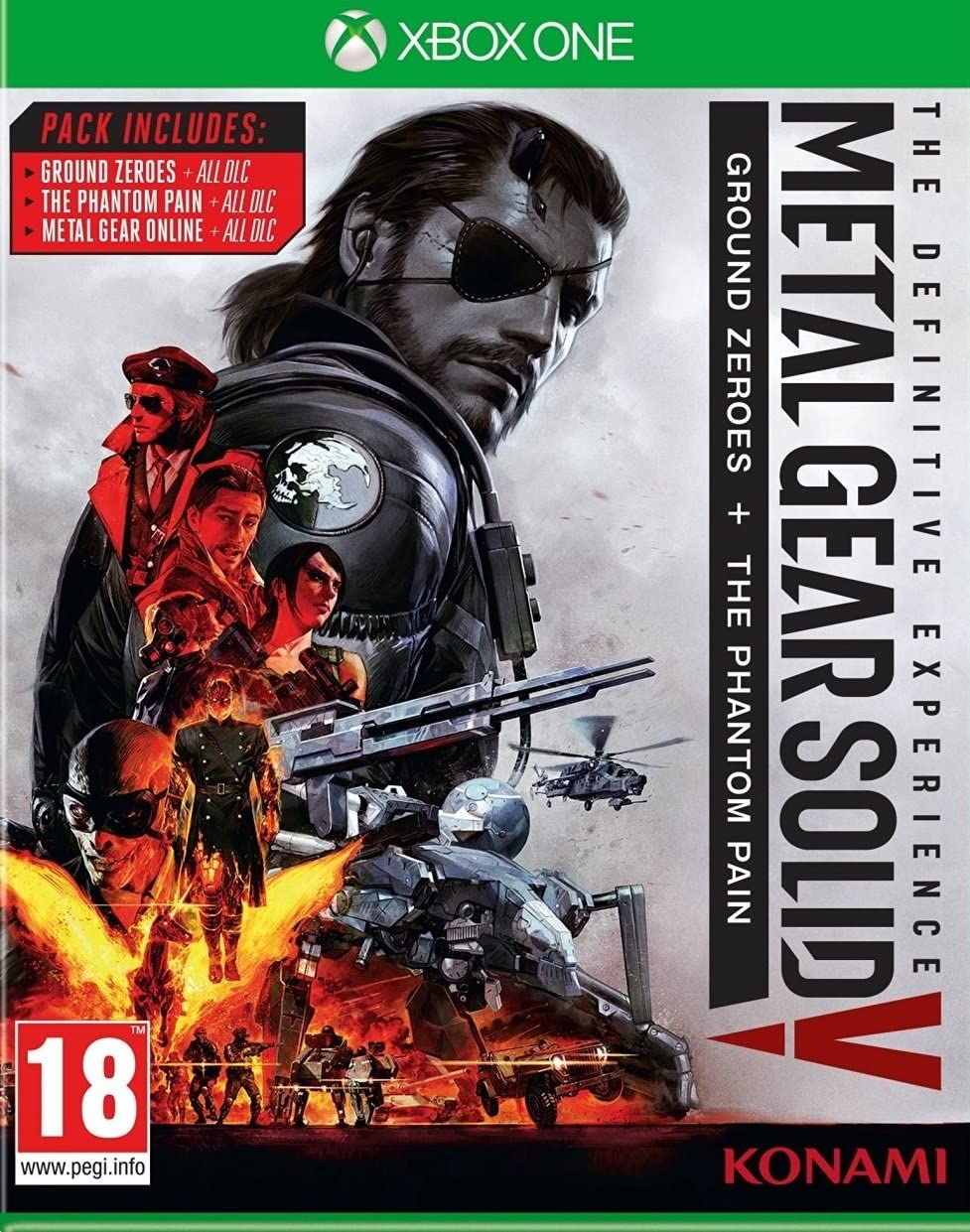 Xbox One Metal Gear Solid V: The Definitive Experience: Amazon.es ...