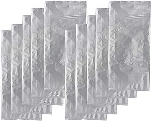 Absorbent Industries 10 Gallon Side Seal Gusset Moisture Barrier Bag Food Storage Mylar, Set of 10, 10 Piece