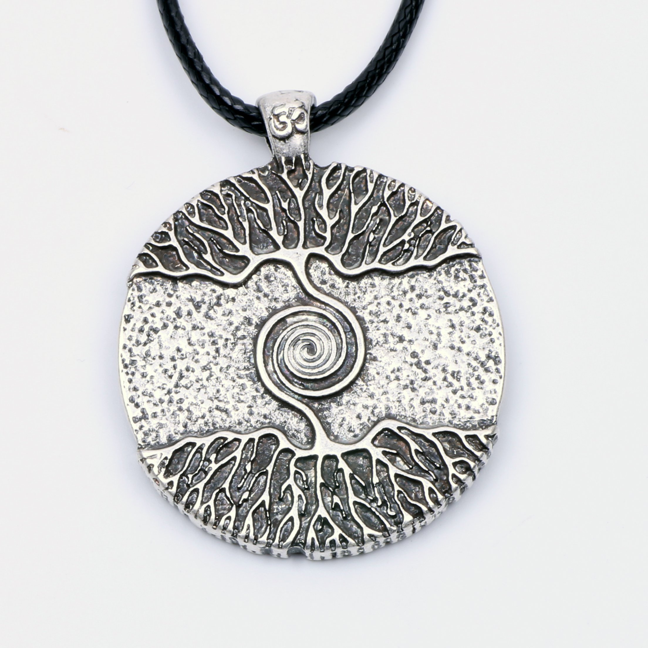 Paw Paw House Yoga Inspired Kybalion Pendant Necklace Amulet Tree of Life Talisma Chi As Above As Below As Within As Without Meditation (4082 Si) (4082) by Paw Paw House (Image #2)