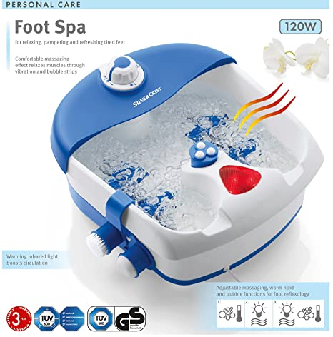 Pediküre fußbad Fußmassage Relif müde füße baden Foot SPA: Amazon.de ...