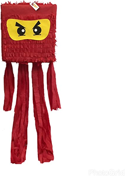 Amazon.com: Ninja Pinata Color Rojo: Toys & Games