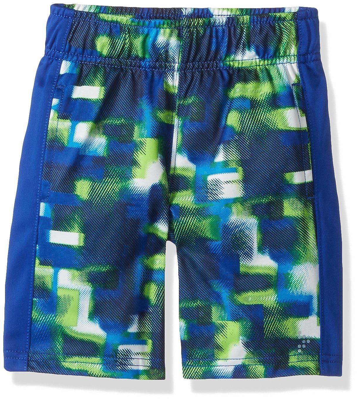Gymboree Boys Printed Athletic Shorts Green//White//Blue XXS 241667787