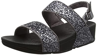Sandale FitFlop Glitterball Slide Black-Taille 41 XQW23ULg1Z