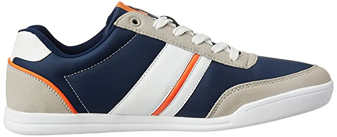 5fcf6db4639e Fila Men s Nofri Grey and Navy Sneakers - 10 UK India (44 EU)  Buy Online  at Low Prices in India - Amazon.in