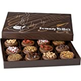 Granny Bella's Christmas Gourmet Cookies Gift Baskets, Milk Chocolate Covered Oreo Cookie Box Birthday Gifts For Women…